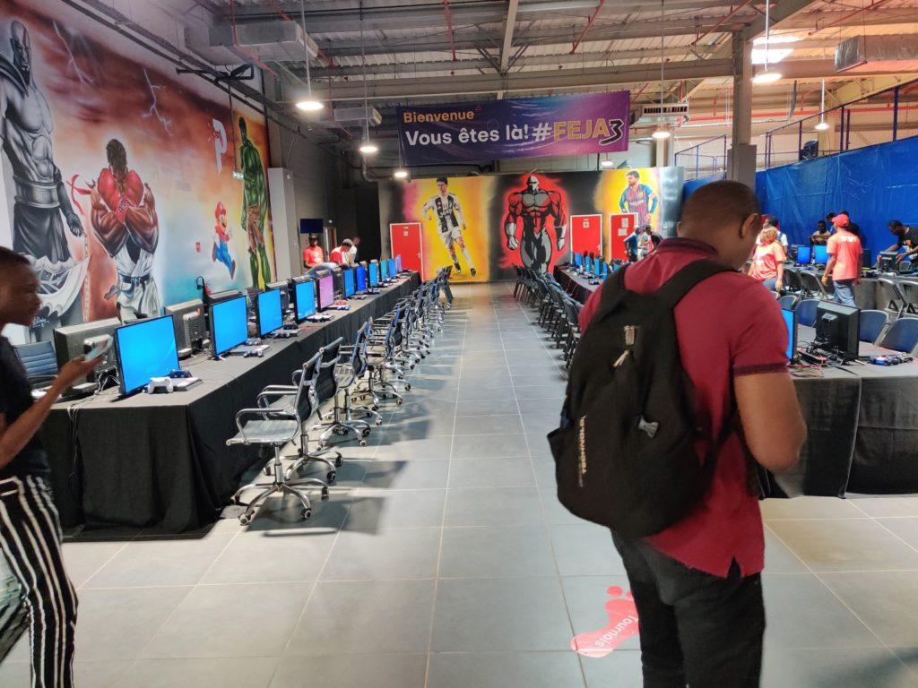 Paradise Game au Cosmos Yopougon, Novembre 2019 pour le FEJA3
